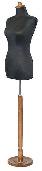 000605 Μπούστο ραπτικής γυναικείο με ξύλινη βάση