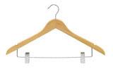 Νο 926 Κρεμάστρα ξυλινη κουστουμιου μανταλάκι